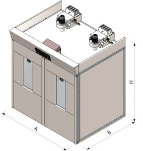 chambre de fermentation pour chariot rotatif. Black Bedroom Furniture Sets. Home Design Ideas